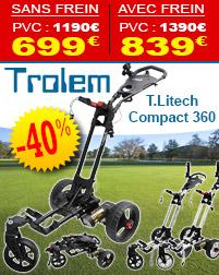 -40% sur les Chariots électrique T.LITECH TROLEM
