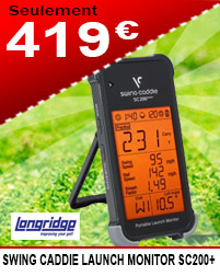 Longridge - Swing Caddie Launch Monitor SC200+