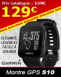 Montre GPS S10 en Soldes à 129€