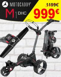 Chariot Motocaddy électrique M1 DHC (frein)